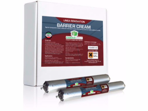 Chemical barrier anti-humidity system BARRIER CREAM by Essedue Group