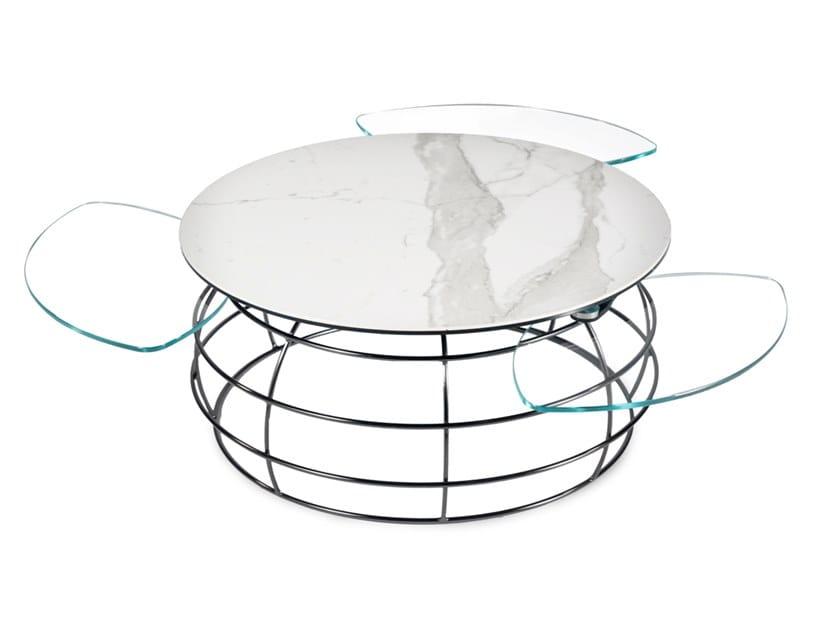Table Basse Extensible En Ceramique Barrique By Naos Design Andrea