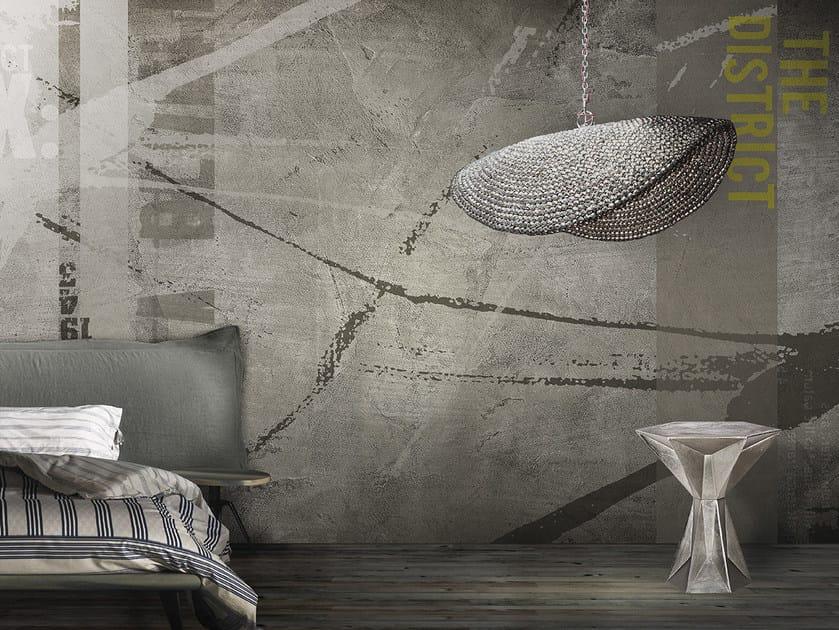 Washable panoramic vinyl wallpaper BARTENDER / STINGER by N.O.W. Edizioni