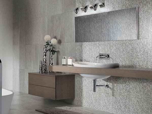 Porcelain stoneware wall/floor tiles with stone effect BASALIKE DECORS by Panaria Ceramica