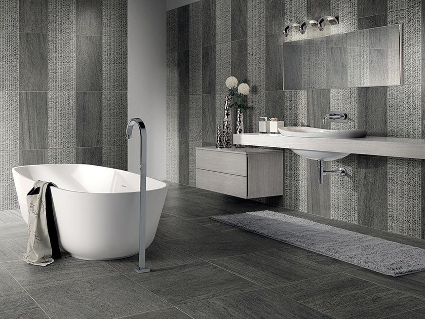 Porcelain stoneware wall/floor tiles with stone effect BASALIKE by Panaria Ceramica