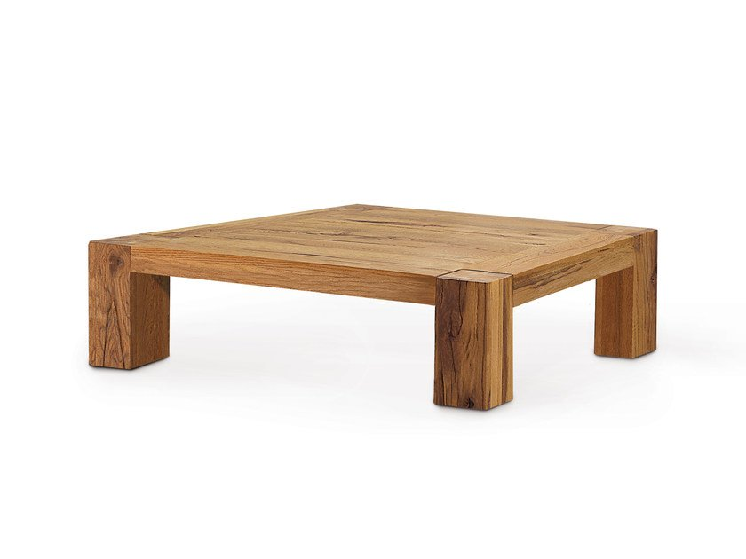 Low Wooden Coffee Table Base By Oliver B