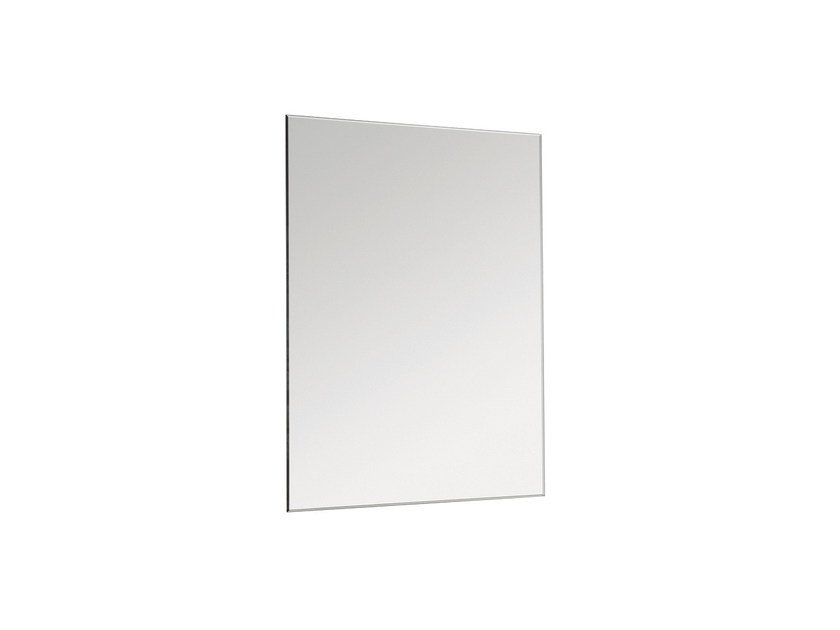 Rectangular wall-mounted bathroom mirror BASIC 2818135 | Mirror by Cosmic