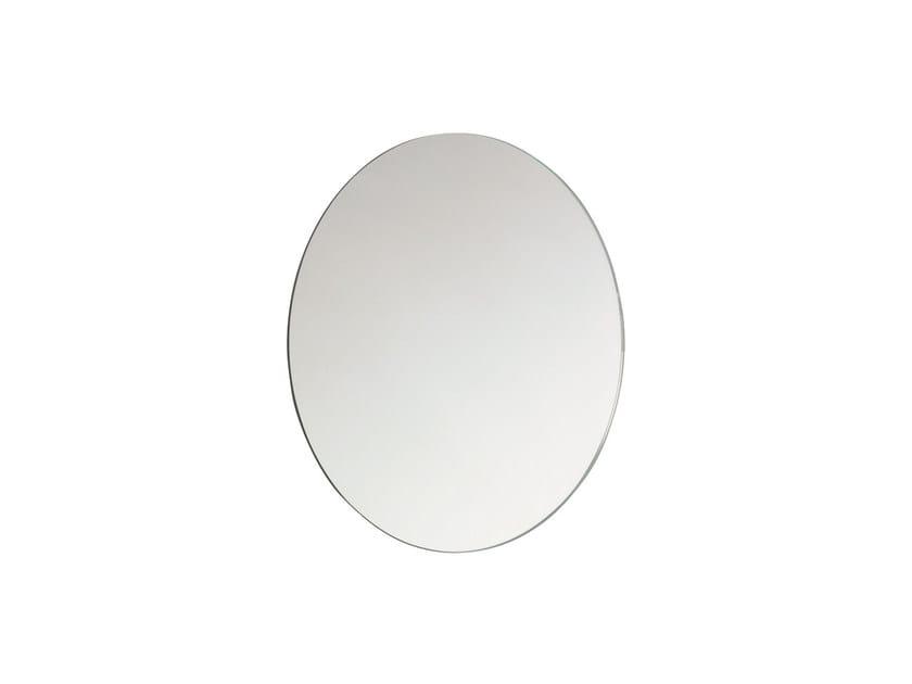 Round wall-mounted bathroom mirror BASIC 2818141 | Mirror by Cosmic