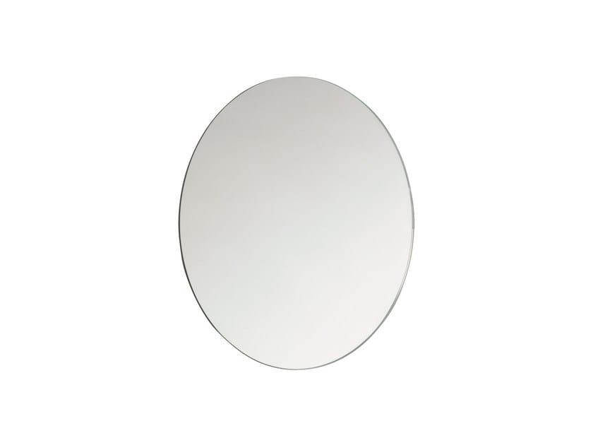 Round wall-mounted bathroom mirror BASIC 2818142 | Mirror by Cosmic