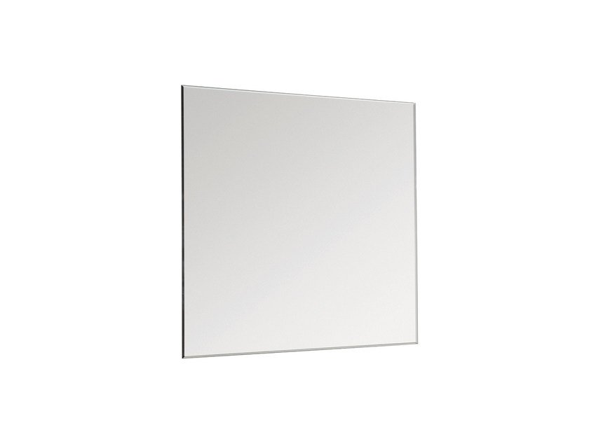 Square wall-mounted bathroom mirror BASIC 2818146 | Mirror by Cosmic