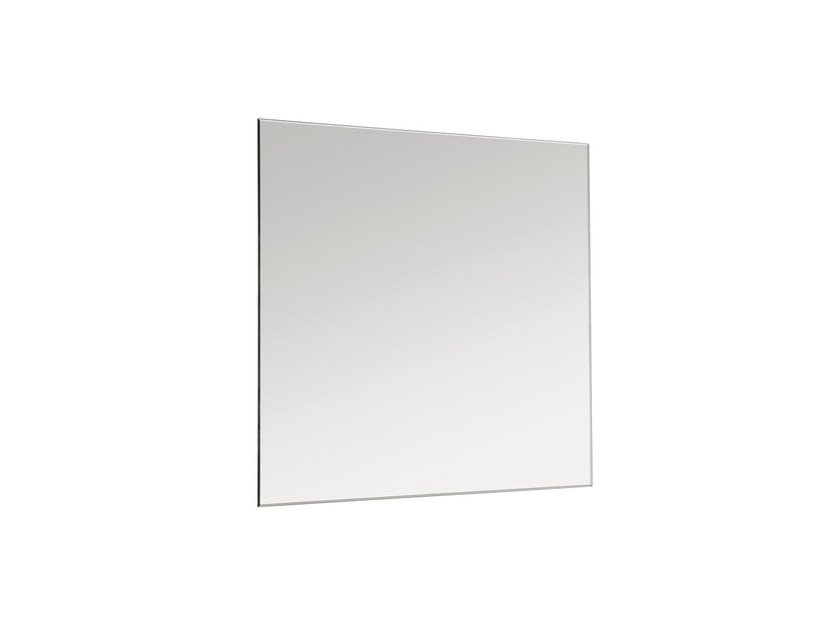 Square wall-mounted bathroom mirror BASIC 2818148 | Mirror by Cosmic