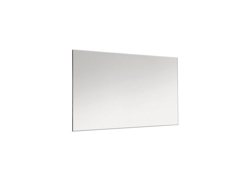 Rectangular wall-mounted bathroom mirror BASIC 2818152 | Mirror by Cosmic