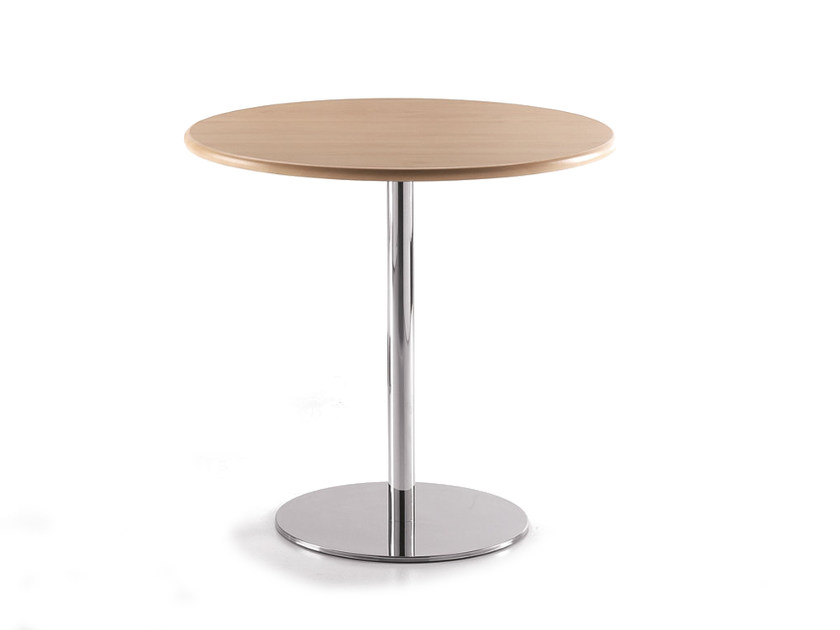 Round MDF table BASIC 856 by TALIN