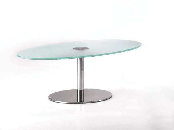 Tavolini In Vetro E Acciaio : Tavolini in acciaio e vetro archiproducts