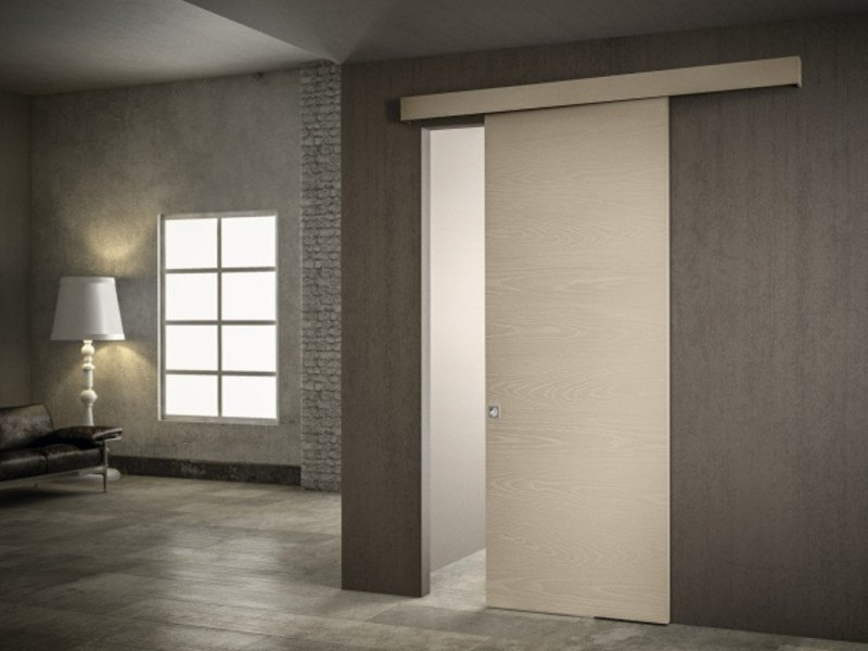 Ash sliding door without frame BASIC by PIVATO