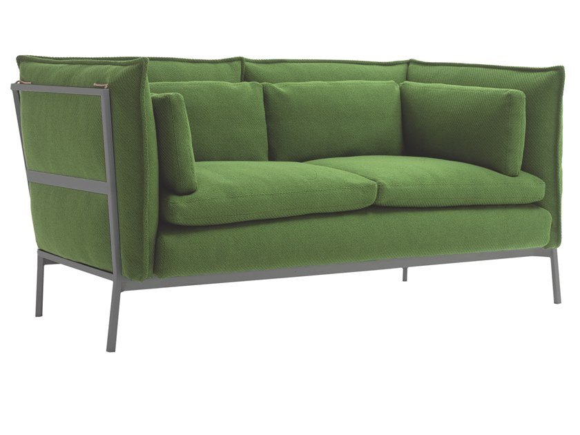 Sofa with removable cover BASKET 011 by Cappellini