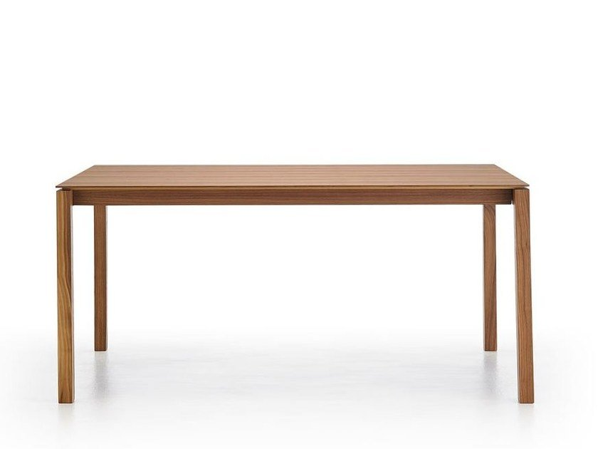 BASS Walnut Table By Punt Design Borja Garcia - Bass coffee table