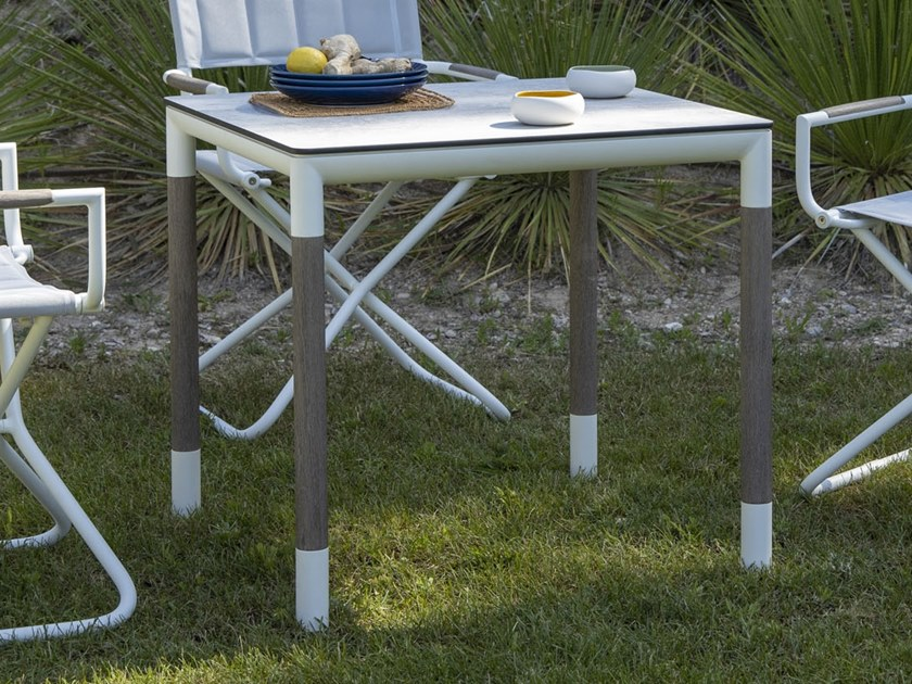 BASTINGAGE | Square table Bastingage Collection By Les ...