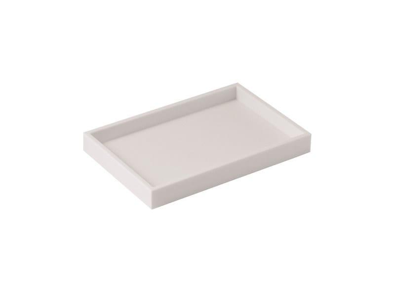 Countertop acrylic glass soap dish BATH LIFE 2290533 | Countertop soap dish by Cosmic