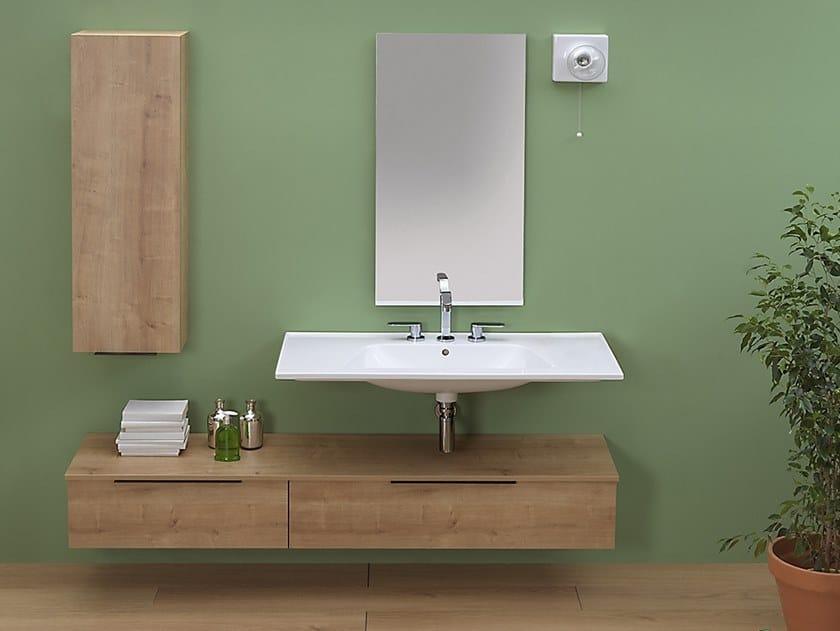 Suspended bathroom cabinet BOX | Bathroom cabinet by CERAMICA FLAMINIA