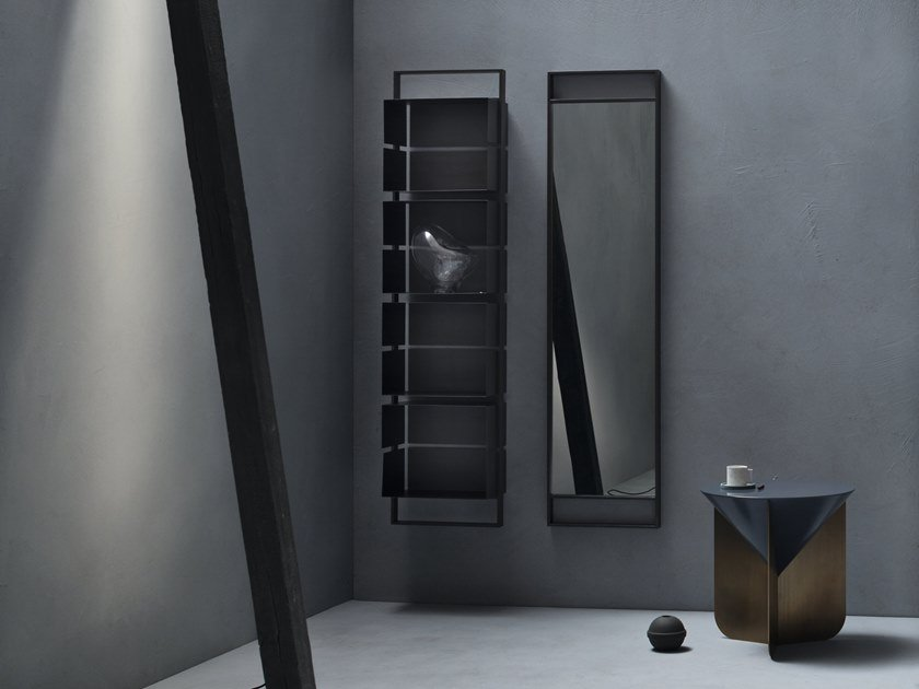 Tall open bathroom cabinet EDEN | Tall bathroom cabinet by Cerasa