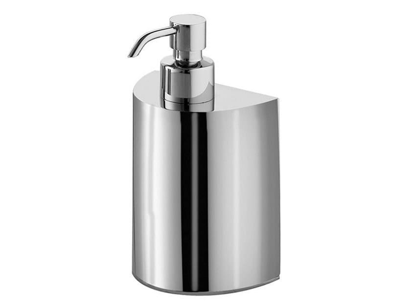 Stainless steel Bathroom soap dispenser TINA | Bathroom soap dispenser by GEDY
