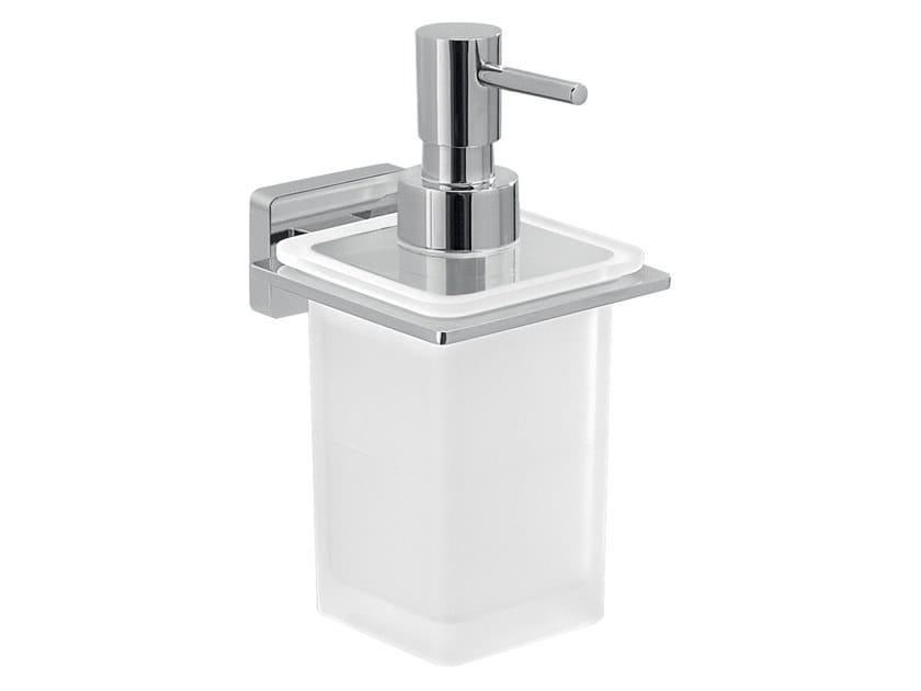 Wall-mounted glass Bathroom soap dispenser ATENA   Bathroom soap dispenser by GEDY