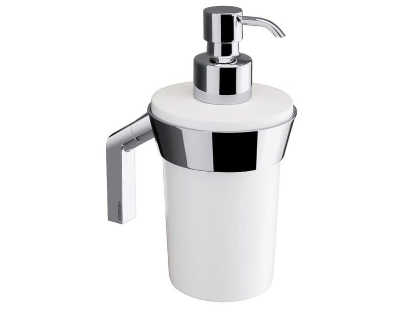 Wall-mounted ceramic Bathroom soap dispenser KARMA | Bathroom soap dispenser by GEDY