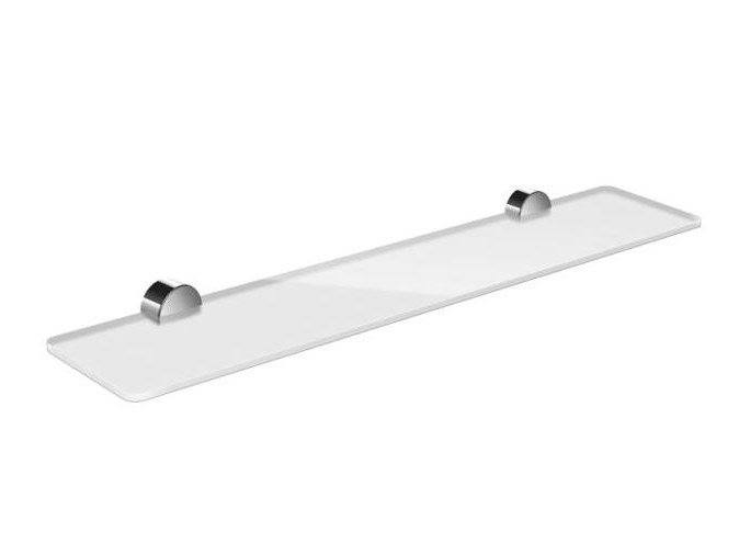 Glass bathroom wall shelf SYSTEM 815 | Bathroom wall shelf by HEWI