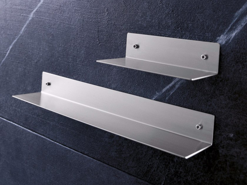 Stainless steel bathroom wall shelf ACN3 | Bathroom wall shelf by Radomonte