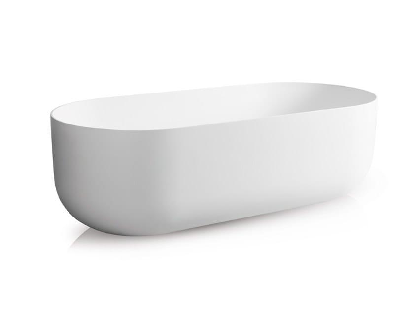 Freestanding oval bathtub FLOW   Bathtub by JEE-O