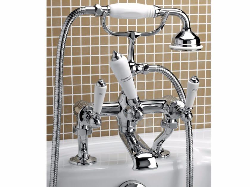 Bathtub tap with hand shower DANDY | Bathtub tap by Devon&Devon