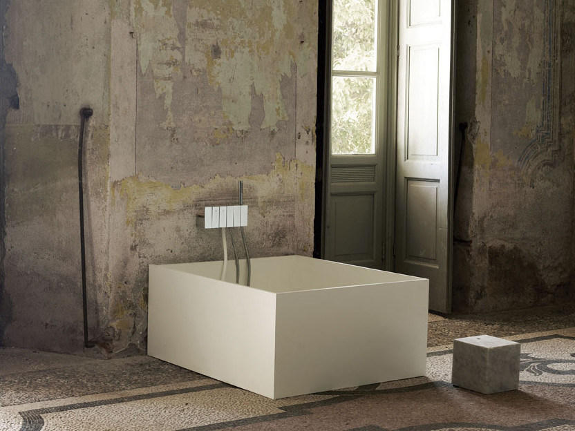 Wall-mounted bathtub tap with temperature limiter HC | Bathtub tap by FIMA Carlo Frattini