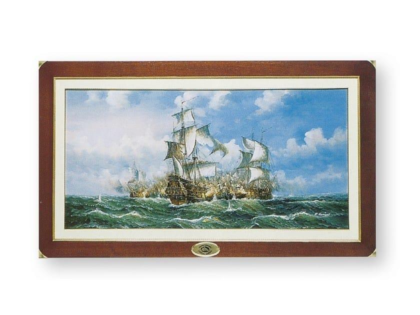 Oil painting on canvas BATTAGLI DEI VELIERI | Decorative painting by Caroti