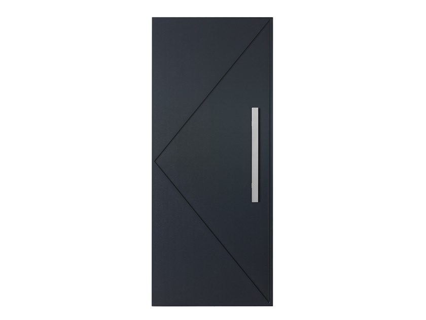 Exterior entry door BATTISTA 10 by FOSSATI SERRAMENTI