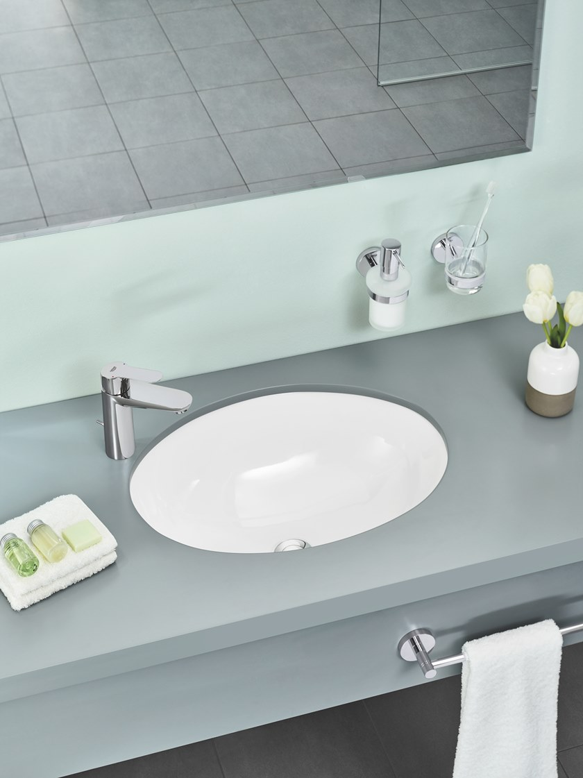 Grohe Europlus Bathroom Faucet.Shop GROHE Europlus Brushed Nickel 2 ...