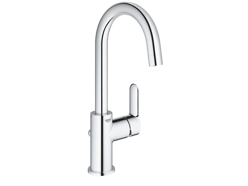 Countertop washbasin mixer with adjustable spout BAUEDGE 23760000 | Washbasin mixer by Grohe