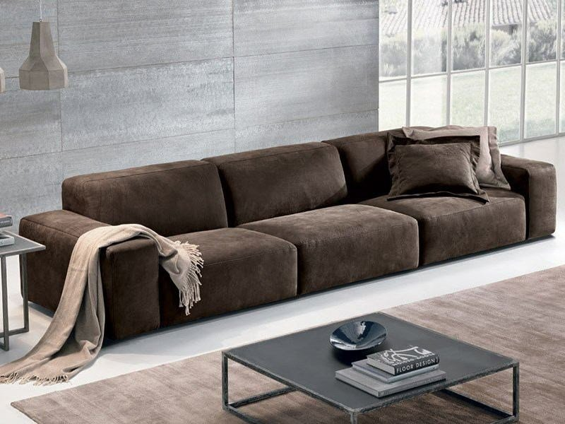 Sectional Leather Sofa BAZAR | Leather Sofa By Max Divani