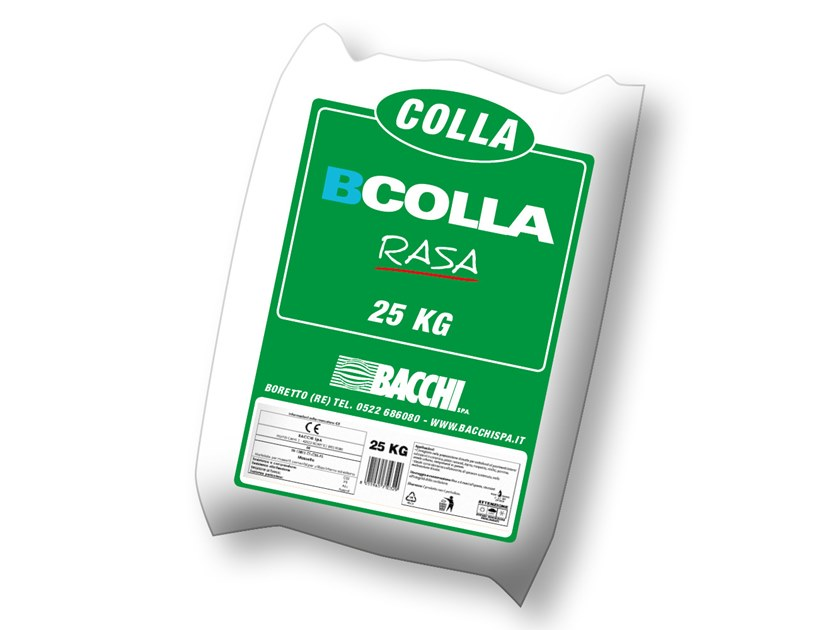 Cement-based glue BCOLLA RASA by Bacchi
