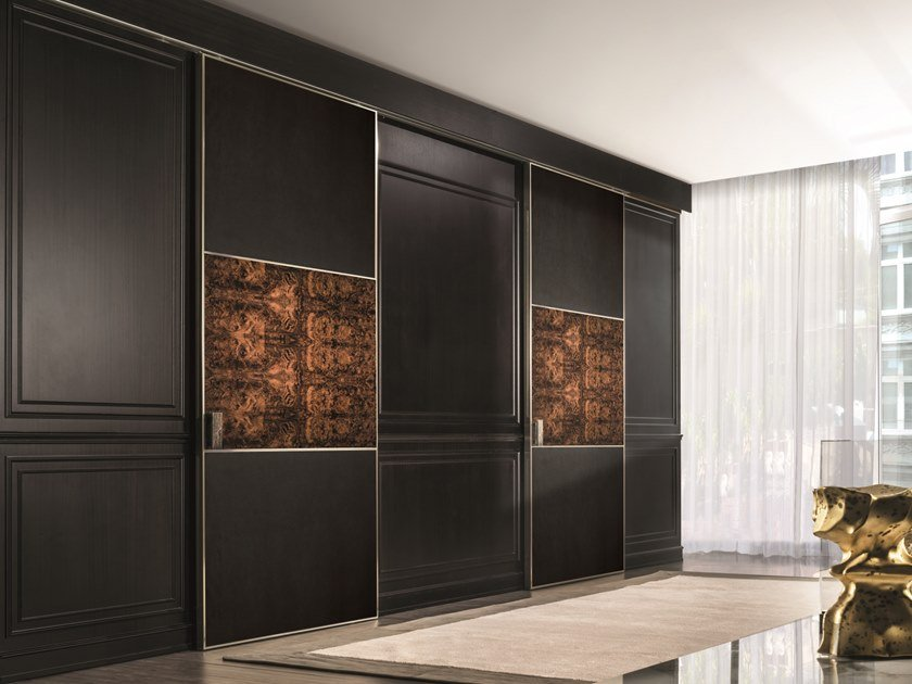 Leather sliding door BE MINE | Door by Longhi