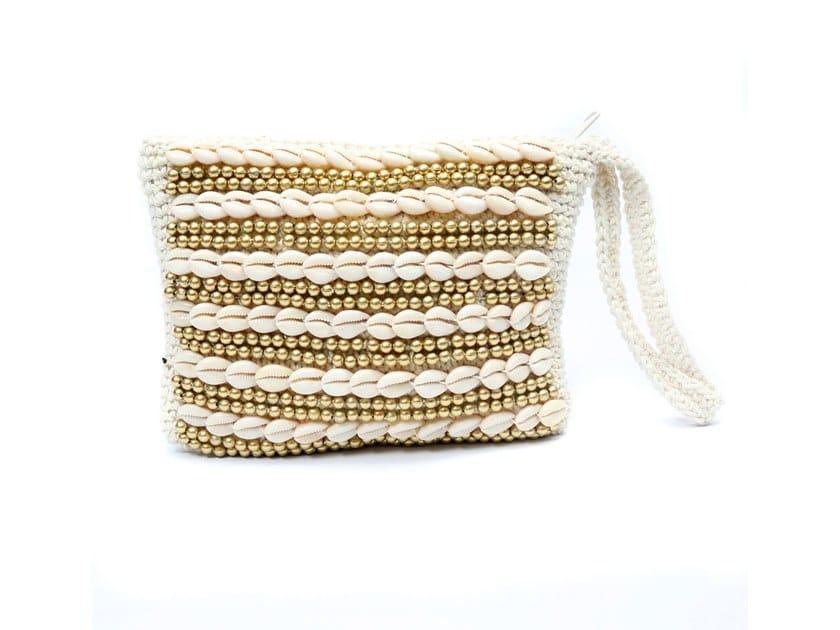 Cotton bag BEADED | Bag by Bazar Bizar