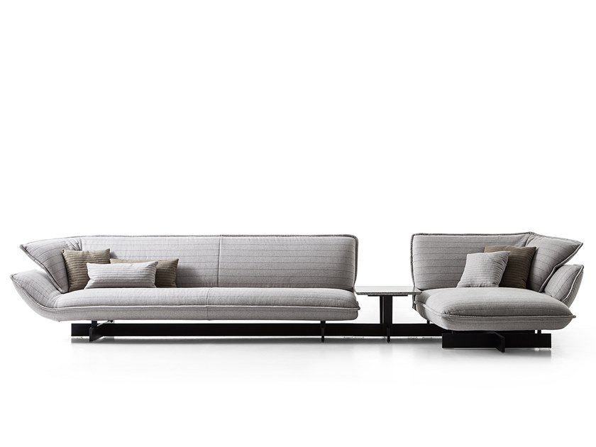 Sectional fabric sofa 550 BEAM SOFA SYSTEM by Cassina