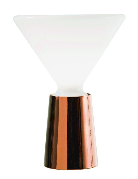 Lampe De Table Fluorescent En Métal De Style Contemporain Beam