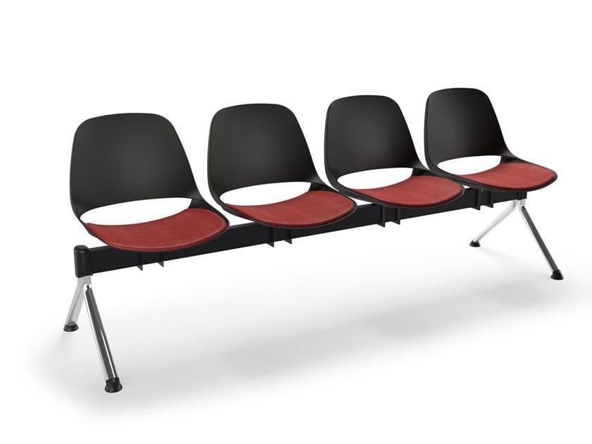 Freestanding beam seating ECLIPSE | Beam seating by Diemmebi