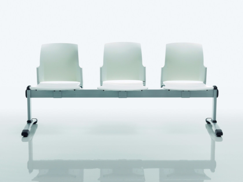 Polypropylene beam seating COLLEGE   Beam seating by Quadrifoglio