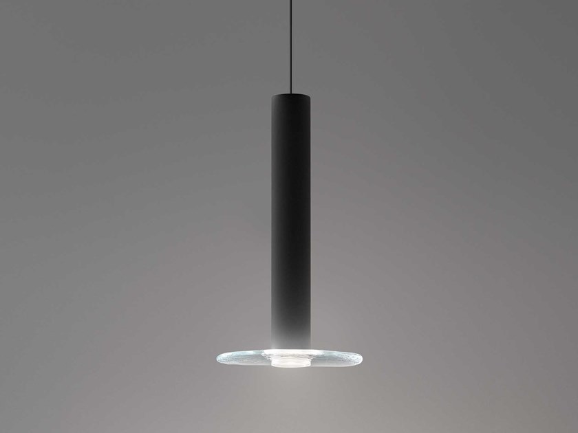 LED glass pendant lamp BEAM STAND GLASS by Olev