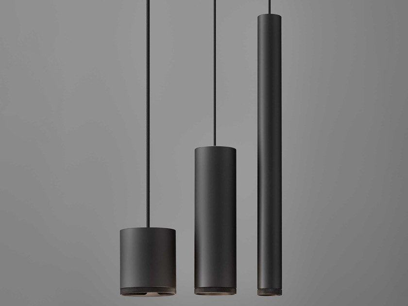 LED aluminium pendant lamp BEAM STICK METAL by Olev
