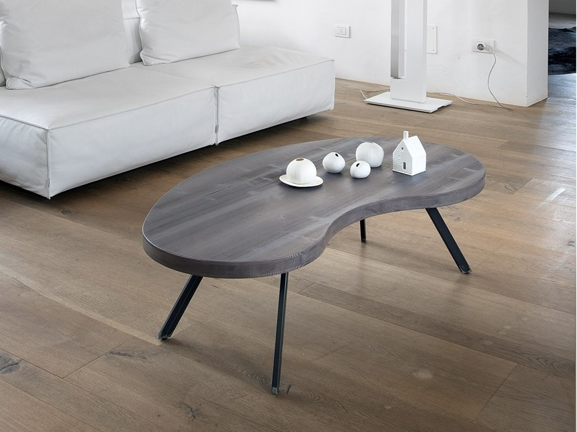 Spruce coffee table for living room BEAN by AltaCorte