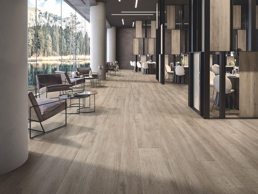 Pavimento rivestimento in gres porcellanato effetto legno beat