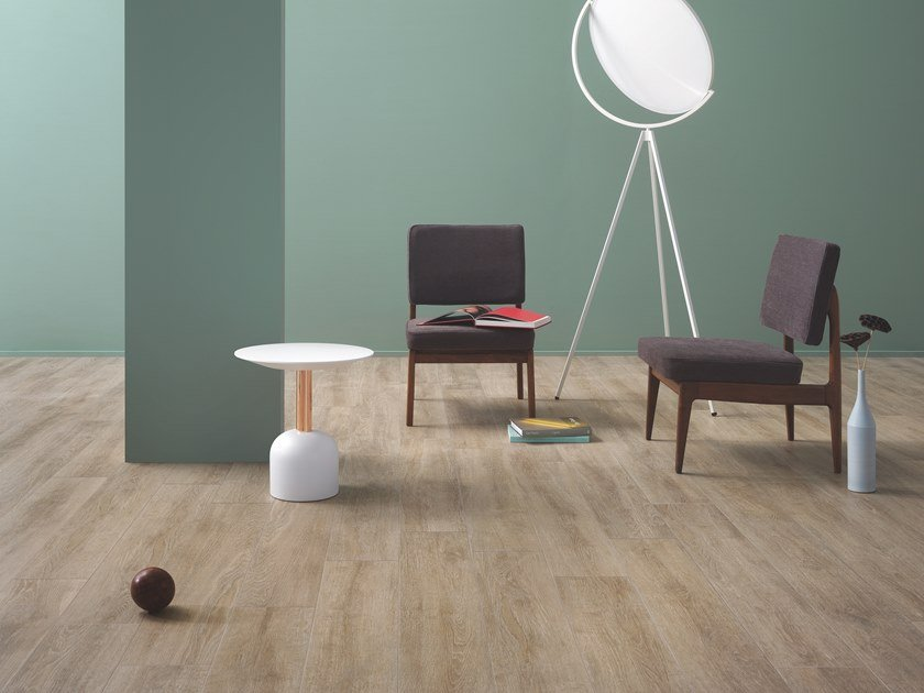 Porcelain stoneware wall/floor tiles with wood effect BEAT IVORY by CERAMICHE KEOPE