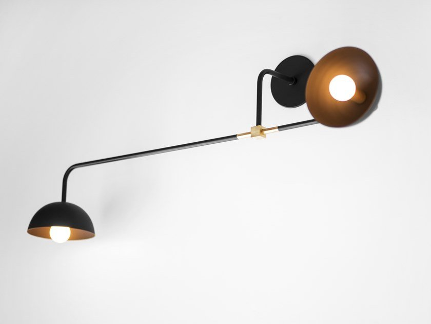 LED adjustable wall lamp BEAUBIEN 04 by Lambert & Fils