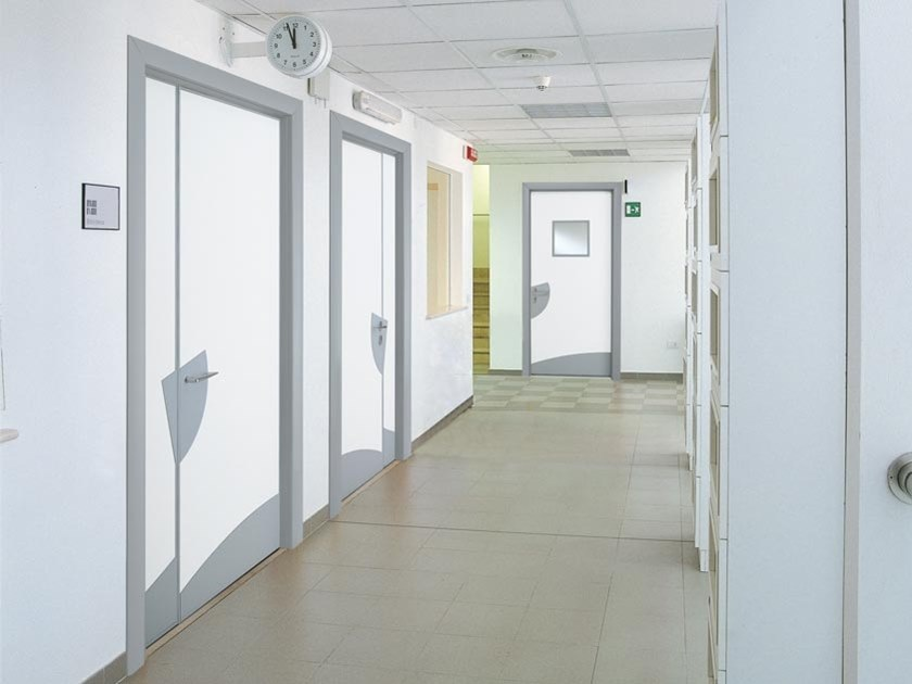 Hinged laminate door BEAUTY by COCIF