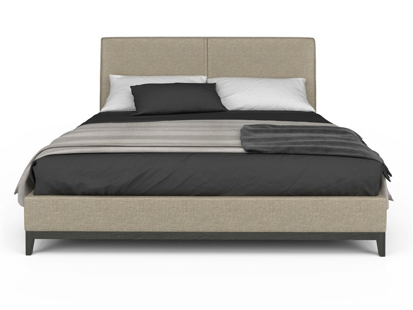 Fabric bed double bed WINSTON | Bed by Huppé