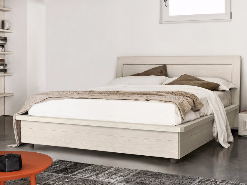 Spruce storage bed FADA | Bed by Scandola Mobili